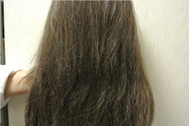 他社の医療用ウィッグ髪質