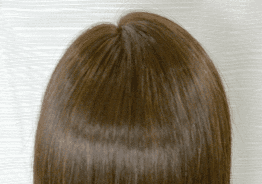 リペア後の綺麗な髪
